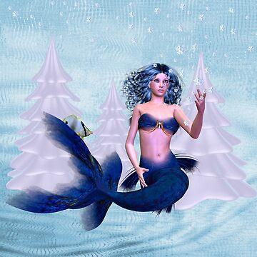 December Mermaid by LoneAngel