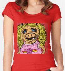Miss Piggy Women's Fitted Scoop T-Shirt