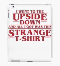 Stanger Things iPad Case/Skin