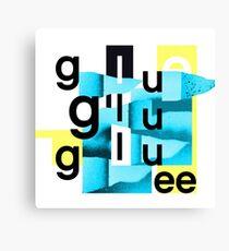 Bicep Glue Canvas Print