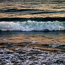 Sunset over the Waves by Shaina Haynes