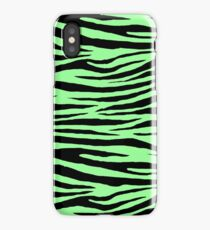 0434 Mint Green Tiger iPhone Case/Skin