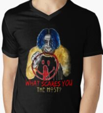 What Scares You The Most? Men's V-Neck T-Shirt