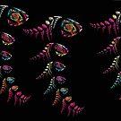 dancing fish by rmenaker