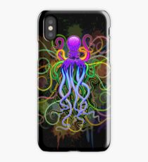 Octopus Psychedelic Luminescence iPhone Case