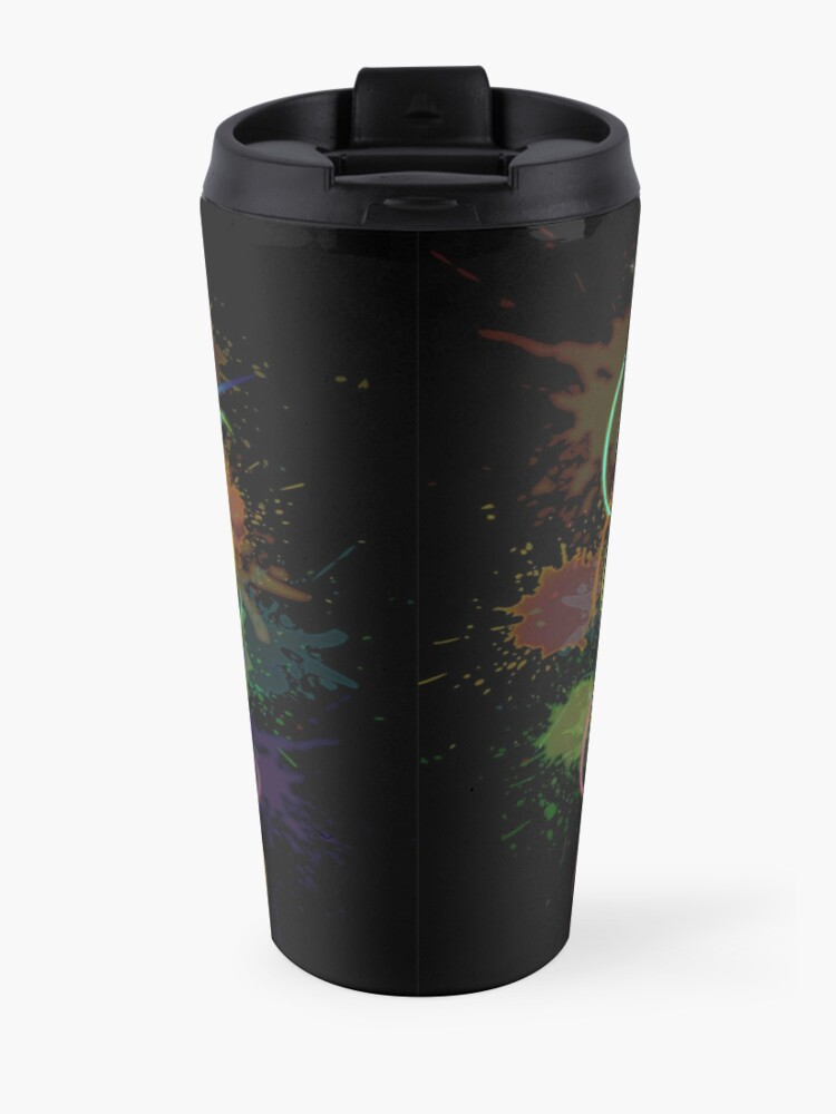 Alternate view of Octopus Psychedelic Luminescence Travel Mug