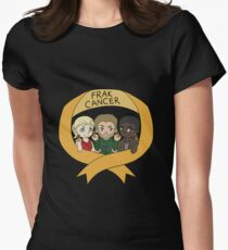 OTA: The Frak Cancer Campaign Women's Fitted T-Shirt