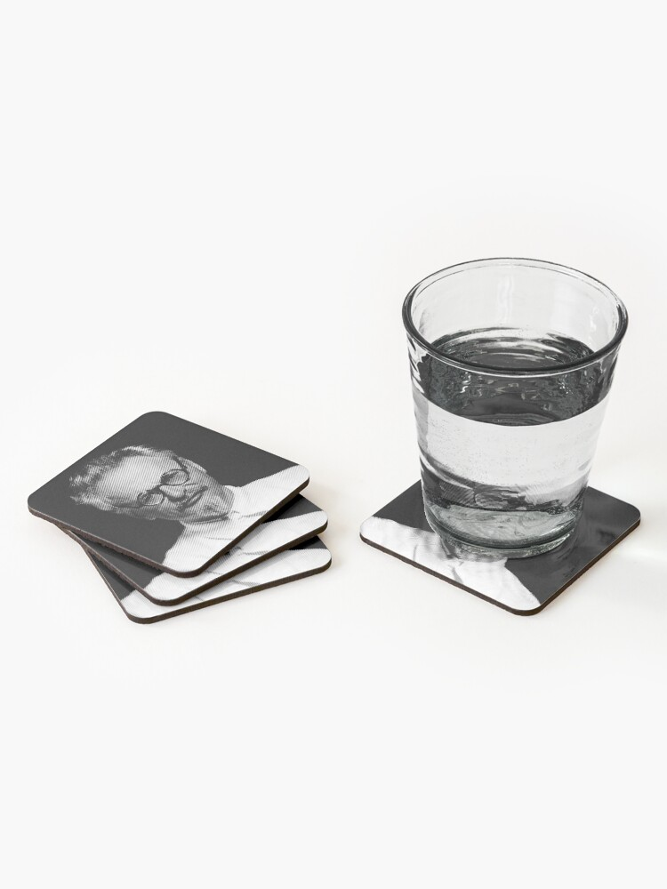 Alternate view of  Leon Trotsky  Coasters (Set of 4)