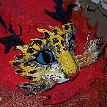 Mask.... Cat by KarenM