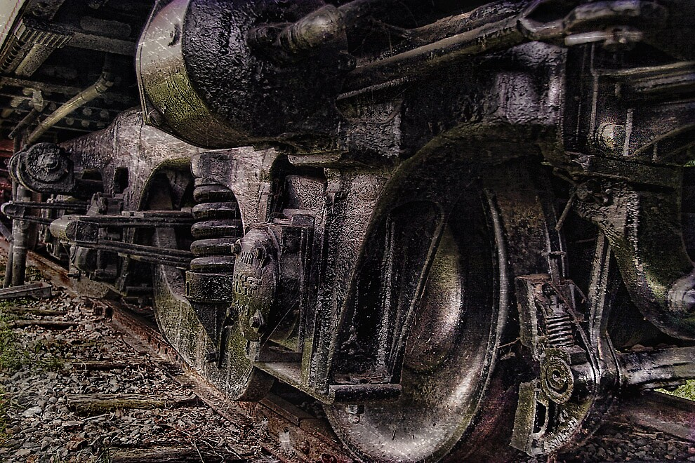 TRAIN WRECK by hud45