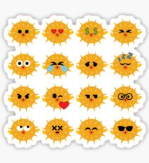 Pufferfish Emoji   Sticker