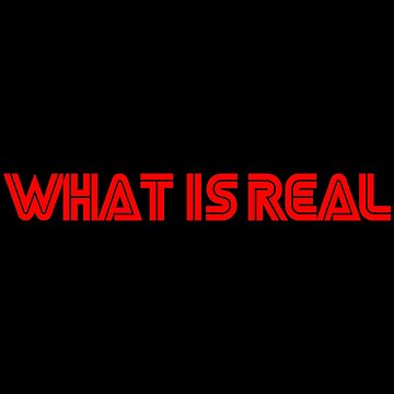 What is Real by Essenti4lgoods