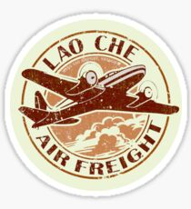 Indiana Jones - Lao Che Air Freight Sticker