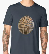 Basket Weave MAZE Men's Premium T-Shirt