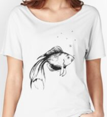 The Lonely Fish Women's Relaxed Fit T-Shirt