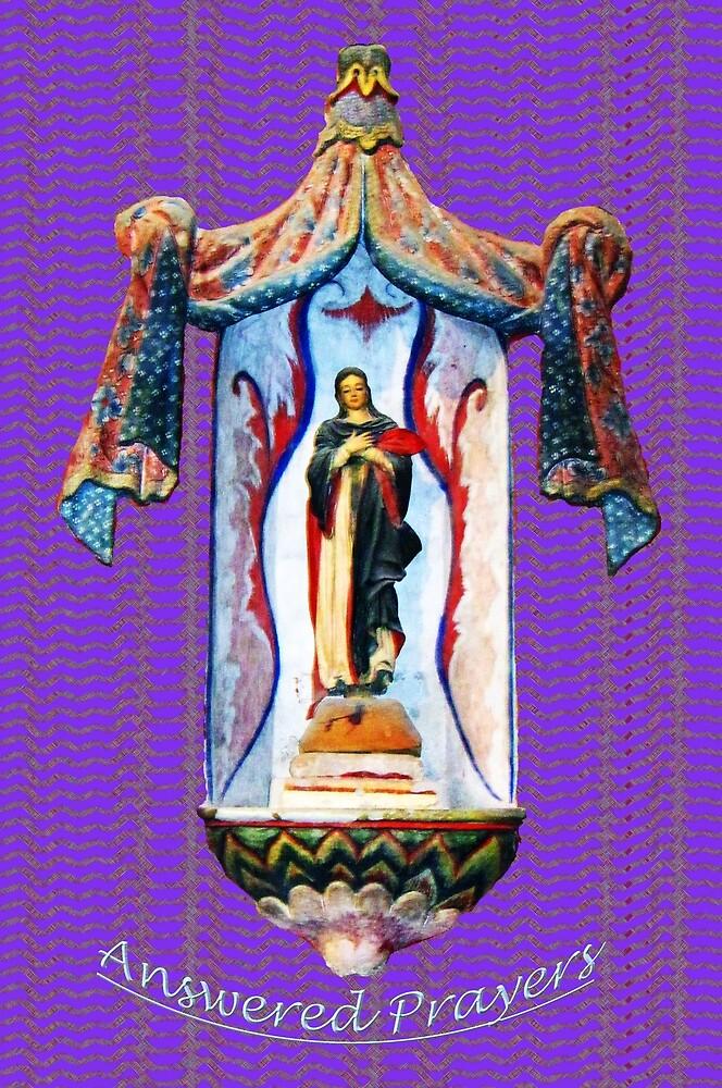 San Xavier's Mother Mary by DAdeSimone