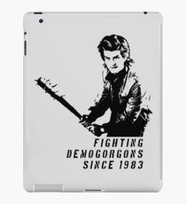 Steve Fighting (Stranger Things) iPad Case/Skin