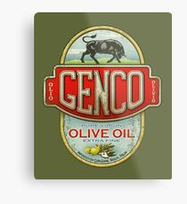 The Godfather - Genco Olive Oil Co. Metal Print