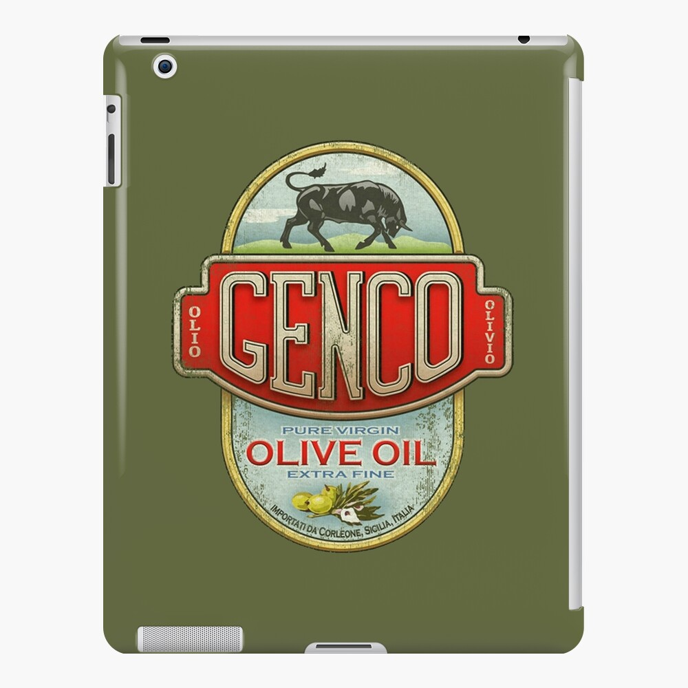 The Godfather - Genco Olive Oil Co. iPad Case & Skin