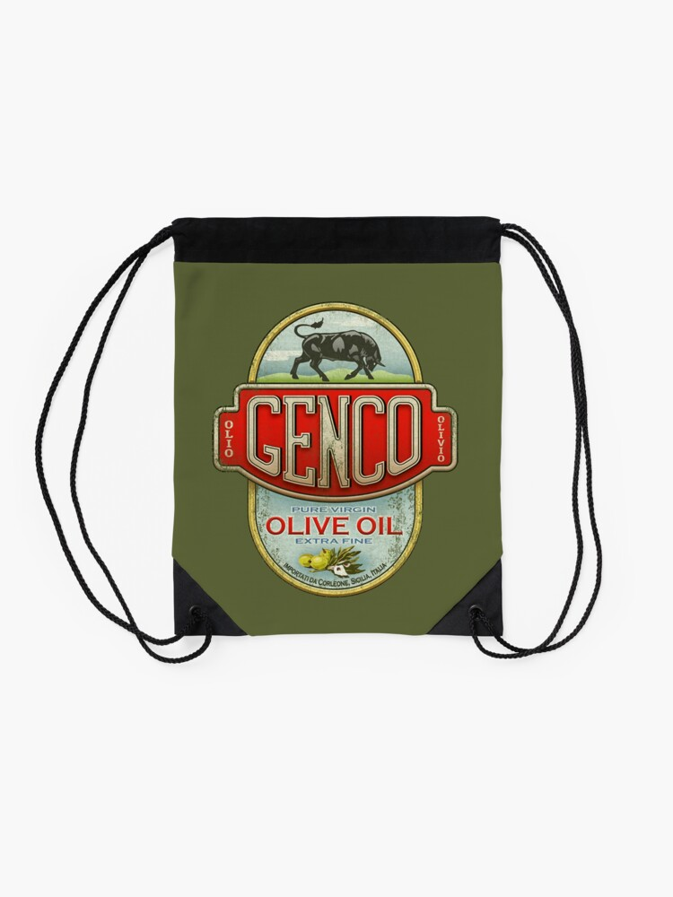 Alternate view of The Godfather - Genco Olive Oil Co. Drawstring Bag
