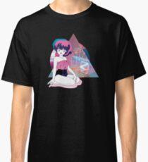 Vaporwave Anime Girl V Classic T-Shirt