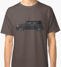 Vectored Boxcar Black Classic T-Shirt