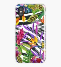 Summer tropical nature iPhone Case/Skin