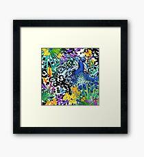 Summer tropical forest Framed Print