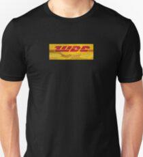 We don't care. DHL. Unisex T-Shirt