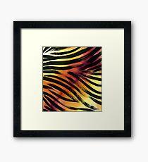 Wild predator skin Framed Print