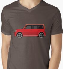 Vectored Boxcar Red T-Shirt