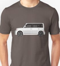 Vectored Boxcar White T-Shirt
