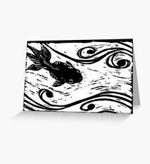 Pond Fish Greeting Card