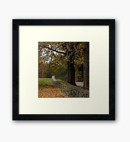 The Realm of an Alternative View Framed Print