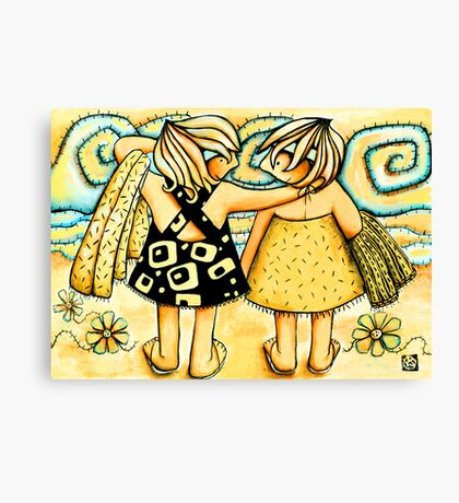 Best of Friends Canvas Print