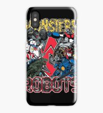 Monsters Vs Robots iPhone Case/Skin