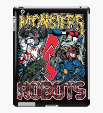 Monsters Vs Robots iPad Case/Skin
