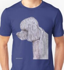 POODLE BLACK AND WHITE T-Shirt