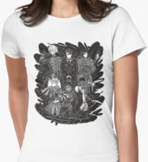Inktober: Six of Crows Women's Fitted T-Shirt