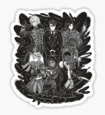 Inktober: Six of Crows Sticker