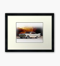 1957 Plymouth Fury I Framed Print