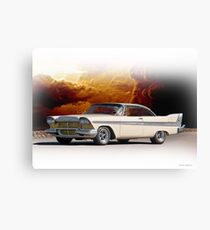 1957 Plymouth Fury I Canvas Print