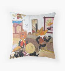 Crow - Bar Throw Pillow