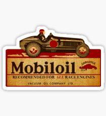 Mobil Racing Gargoyle midget sprint car Sticker