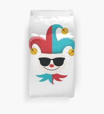 Joker Emoji   Duvet Cover