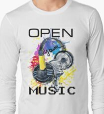 headphone and microphone T-Shirt