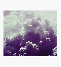 Purple Sky .- Photographic Print
