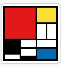 My Mondrian Sticker
