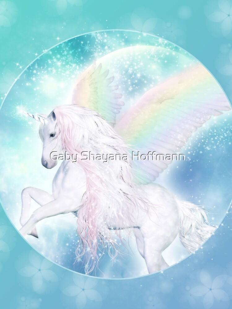 Rainbow Pegasus von shayanahoffmann