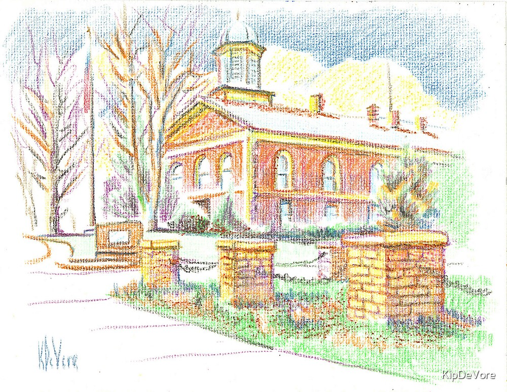 Antebellum Courthouse by KipDeVore